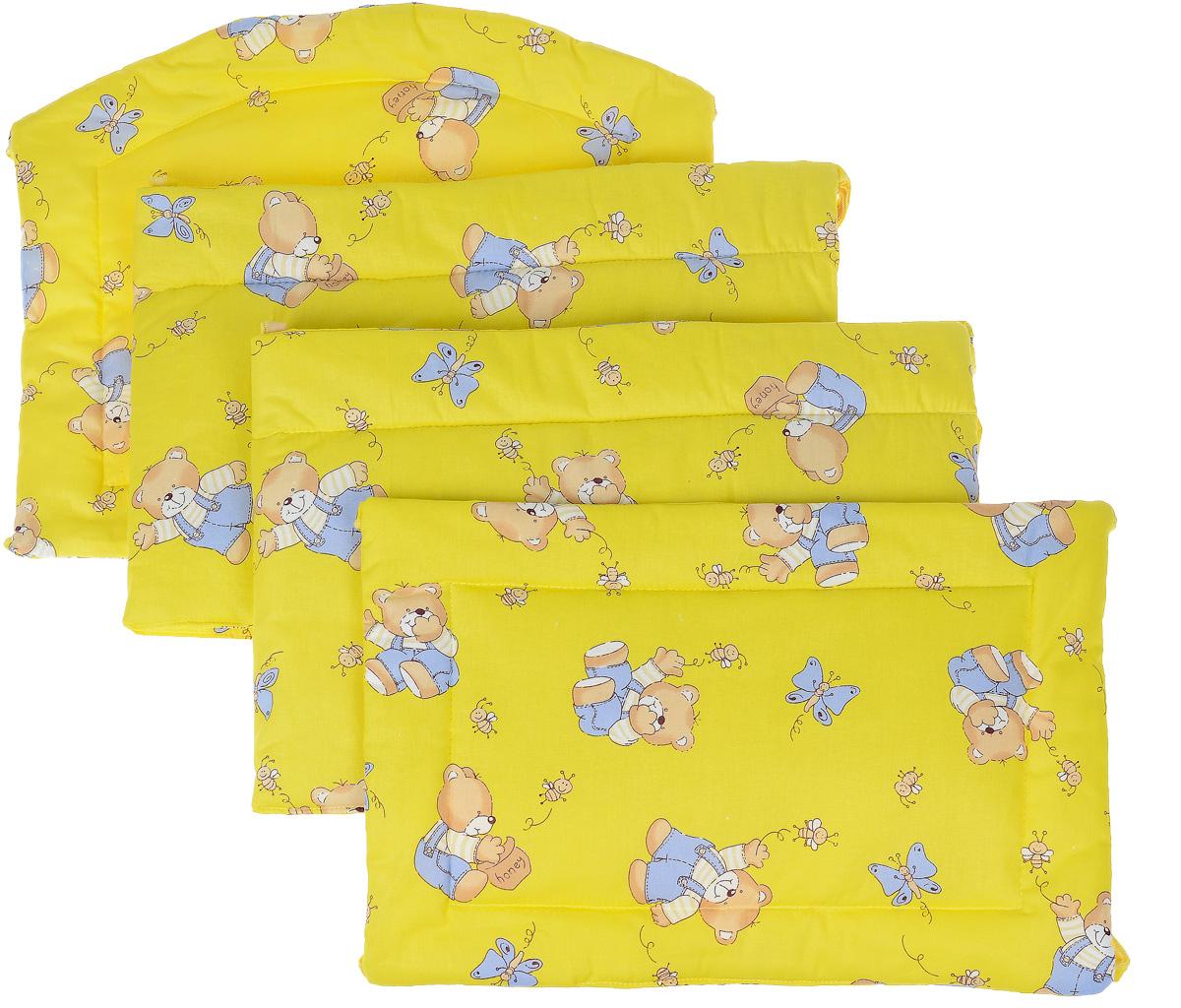 Фея Борт комбинированный 405 Мишка цвет желтый -  Бортики, бамперы