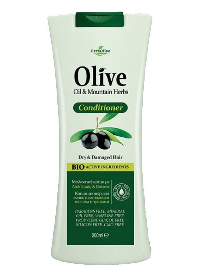 HerbOlive Кондиционер для сухих и поврежденных волос с экстрактами трав 200 мл086-04-33687Кондиционер Herbolive с содержанием экстрактов трав и растений идеальны для использования после мытья, разработаны с целью смягчить и защитить волосы от внешней среды в любое время года.Волосы объемны, легко поддаются укладке, обретают жизненную силу и питание.Косметика произведена в Греции на основе органического сырья, НЕ СОДЕРЖИТ минеральные масла, вазелин, пропиленгликоль, парабены, генетически модифицированные продукты (ГМО)