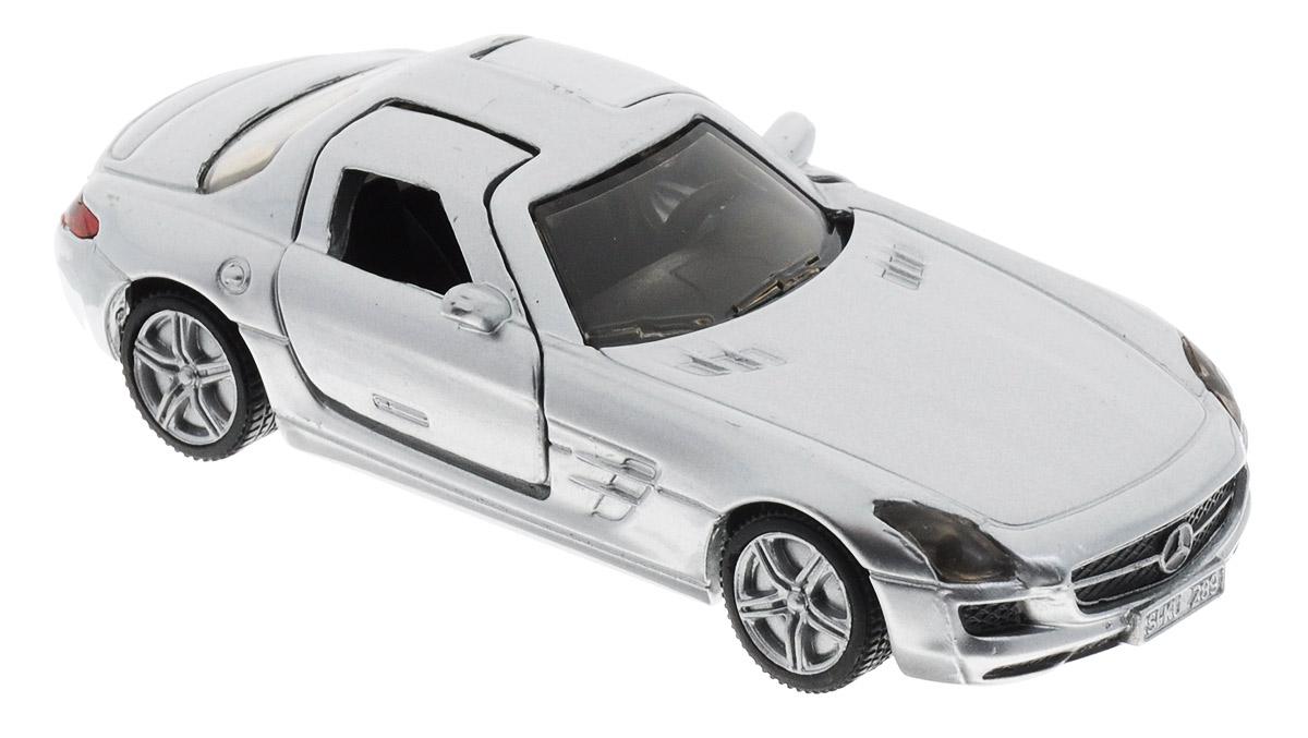 Siku Модель автомобиля Mercedes-Benz SLS AMG машина pitstop mercedes benz sls amg silver ps 0616307 s