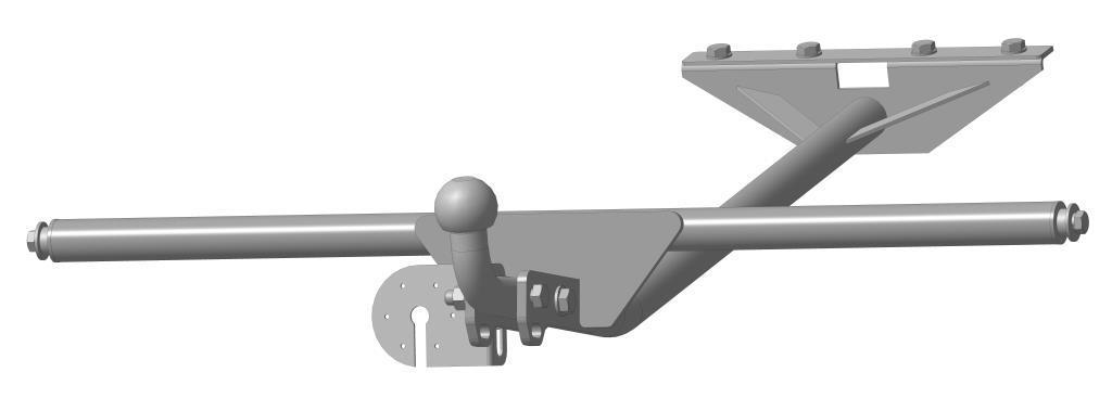 Фаркоп Bosal для Лада 2105,21051,21053,2107,21071, тип шара А, 1203-AДА-18/2+Н550Тип шара А – съемный на двух болтах шар, грузоподъемность 1500 кг.