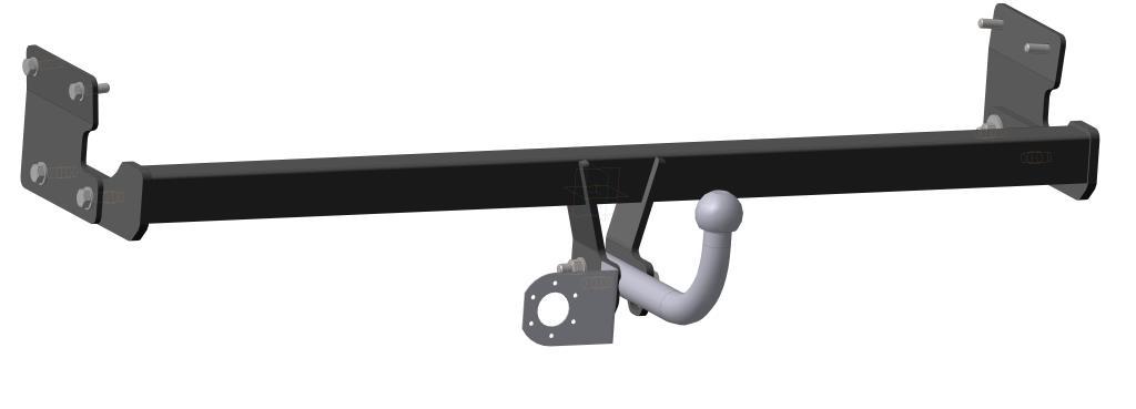 Фаркоп Bosal для Kia Soul MPV 2014->..., горизонтальная/вертикальная нагрузка на шар 1100/75 (без электрики), 6754-A80621Тип шара А – съемный на двух болтах шар, грузоподъемность 1500 кг.