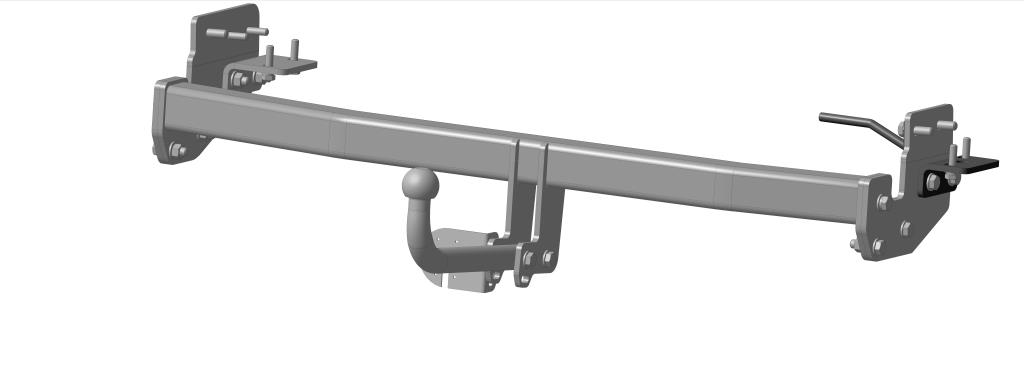 Фаркоп Bosal для Infiniti FX 37, FX 50 2010->..., горизонтальная/вертикальная нагрузка на шар 1500/75 (без электрики), 8011-AДА-18/2+Н550Тип шара А – съемный на двух болтах шар, грузоподъемность 1500 кг.