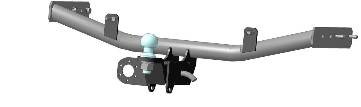 Фаркоп Bosal для ВАЗ (Lada) Granta, Kalina (1117-2194) 2005->..., горизонтальная/вертикальная нагрузка на шар 1100/50 (без электрики), 1229-E80621Тип шара Е- съемный, на гайке, грузоподъемностью 1500 кг