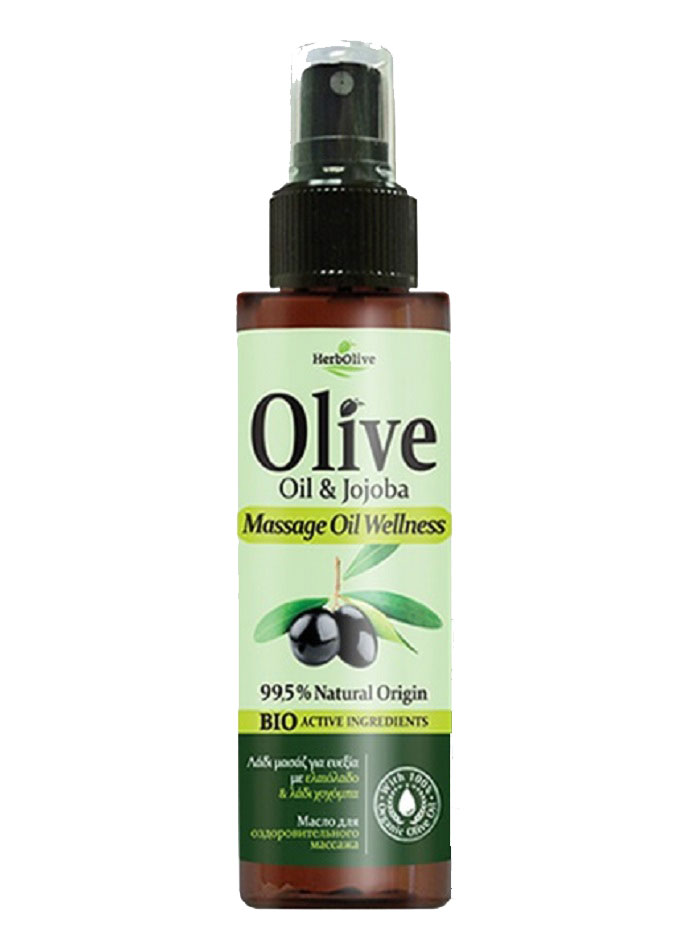 HerbOlive Масло для массажа тонизирующее 150 мл7115986В составе масло оливы, жожоба и экстракт алоэ. Приятно расслабляет тело и разум. Побалуйте себя приятным массажем с маслом Herbolive и ощутите вашу кожу гладкой и мягкой. Косметика произведена в Греции на основе органического сырья, НЕ СОДЕРЖИТ минеральные масла, вазелин, пропиленгликоль, парабены, генетически модифицированные продукты (ГМО)
