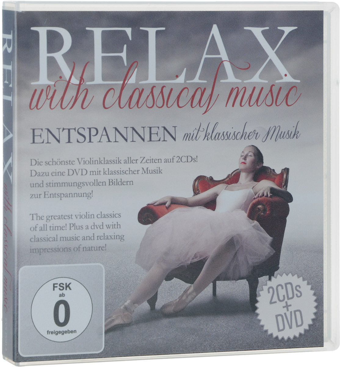 Relax With Classical Music (2 CD + DVD) блокада 2 dvd