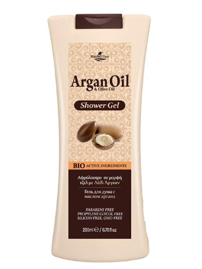ArganOil Гель для душа 200 мл72523WDСодержит масло арганы, оливковое масло, подсолнечное масло, глицерин, натуральные компоненты, богатые витаминами. Гель обеспечивает глубокое увлажнение и питание, антивозрастное, успокаивающее действие, обладает омолаживающим эффектом, придает коже здоровый вид и свежесть. Идеален для ежедневного применения. Косметика произведена в Греции на основе органического сырья, НЕ СОДЕРЖИТ минеральные масла, вазелин, пропиленгликоль, парабены, генетически модифицированные продукты (ГМО)