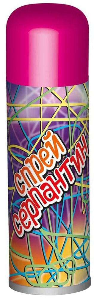 B&H Карнавальный спрей Серпантин цвет розовый97775318Карнавальный спрей B&H Серпантин отлично подойдет для любого праздника. Спрей-серпантин падает длинными разноцветными нитями и распыляется с расстояния не менее 1,5 м. Легко смывается водой. Объем баллона: 250 мл.