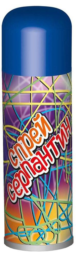 B&H Карнавальный спрей Серпантин цвет синий1.645-504.0Карнавальный спрей B&H Серпантин отлично подойдет для любого праздника. Спрей-серпантин падает длинными разноцветными нитями и распыляется с расстояния не менее 1,5 м. Легко смывается водой. Объем баллона: 250 мл.