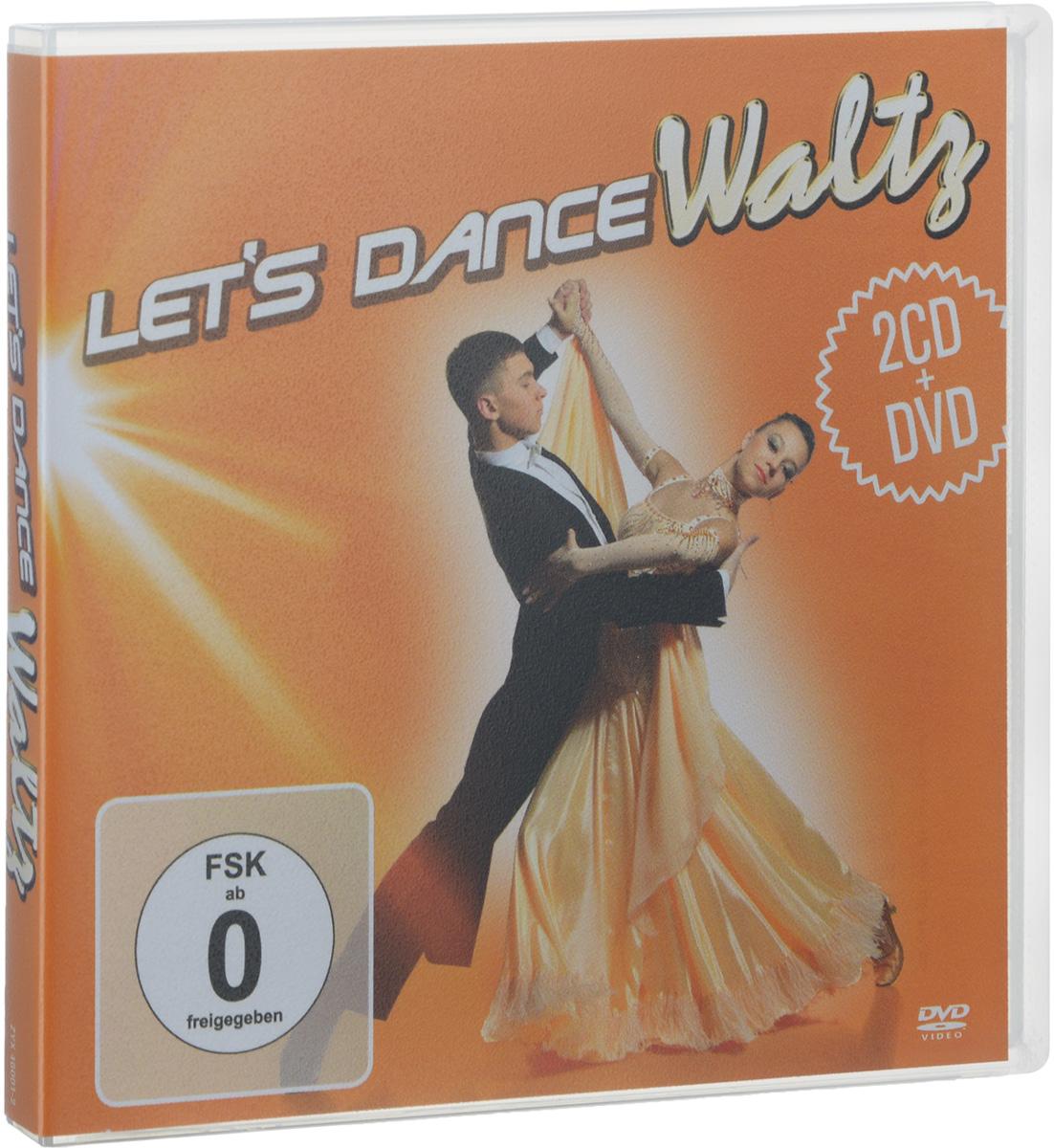 Johann Strauss Orchester,Питер Шмальфусс Let's Dance. Waltz (2 CD + DVD) van der graaf generator van der graaf generator live in concert at metropolis studios london 2 cd dvd