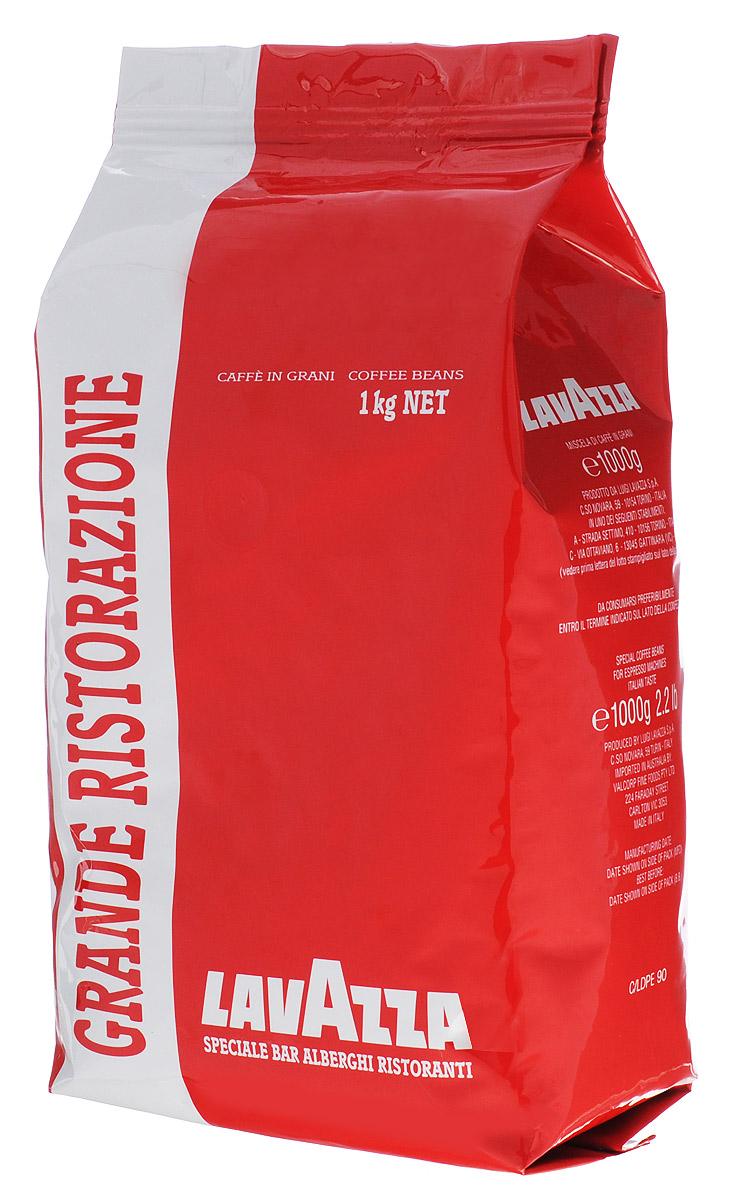 Lavazza Grande Ristorazione Rossa кофе в зернах, 1 кг0120710Идеально сбалансированная смесь арабики из Центральной и Южной Америки, дополненная африканской и индонезийской робустой. Чуть горьковатый эспрессо дает объемный насыщенный вкус и чудесный аромат. Прекрасно подходит для молочных напитков. Высокая плотная пенка обрадует ценителей настоящего эспрессо.