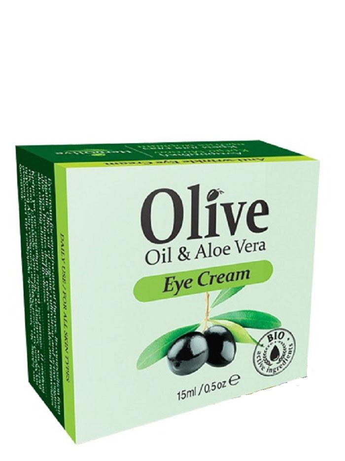 HerbOlive Крем против морщин для области вокруг глаз 15 мл4600702087673Рекомендуется применять с 35 лет утром и вечером.Благодаря богатому составу натуральных компонентов, таким, как масло оливы, масло карите, арганы, пантенол, алоэ, экстракт ромашки и экстракт плодов расторопши, крем прекрасно справляется со своей задачей. Помогает в восстановлении и реконструкции клеток кожи, защищают ее от старения и истощения. Благодаря своим антиоксидантным, противовоспалительным свойствам помогает избавиться от покраснений и избавиться от морщинок вокруг глаз. Крем оказывает омолаживающее действие. Укрепляет клеточные мембраны.Косметика произведена в Греции на основе органического сырья, НЕ СОДЕРЖИТ минеральные масла, вазелин, пропиленгликоль, парабены, генетически модифицированные продукты (ГМО)