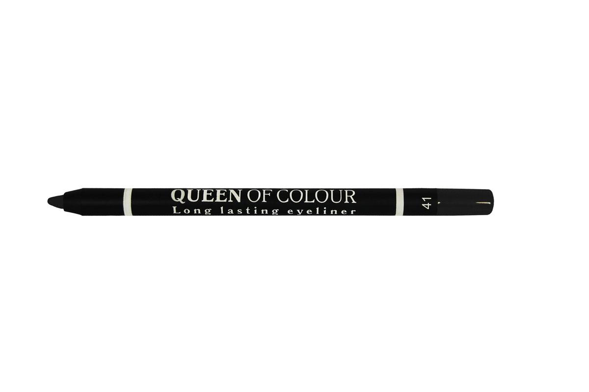 Ninelle Карандаш для глаз Queen Of Colour №41MFM-3101Высокая концентрация пигментов создает насыщенный цвет, который делает образ более ярким и индивидуальным. Таким карандашом можно выполнить как дневной, так и вечерний макияж.Новая формула с витамином Е способствует идеально мягкому нанесению карандаша на веки. Он прекрасно растушевывается и превосходно держится на веках в течение всего дня. Для создания более глубокого образа не ждите пока карандаш зафиксируется, а сразу приступайте к растушевке его границ.