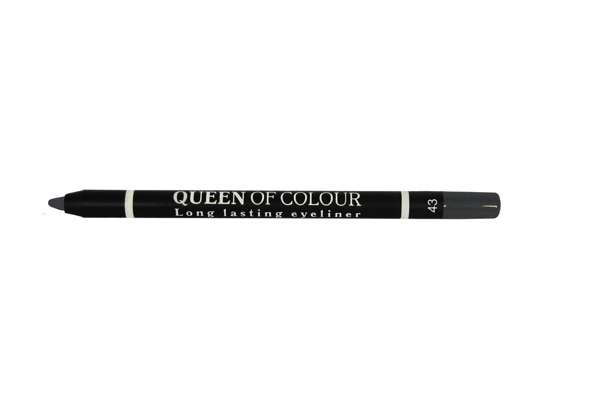 Ninelle Карандаш для глаз Queen Of Colour №43MFM-3101Высокая концентрация пигментов создает насыщенный цвет, который делает образ более ярким и индивидуальным. Таким карандашом можно выполнить как дневной, так и вечерний макияж.Новая формула с витамином Е способствует идеально мягкому нанесению карандаша на веки. Он прекрасно растушевывается и превосходно держится на веках в течение всего дня. Для создания более глубокого образа не ждите пока карандаш зафиксируется, а сразу приступайте к растушевке его границ.