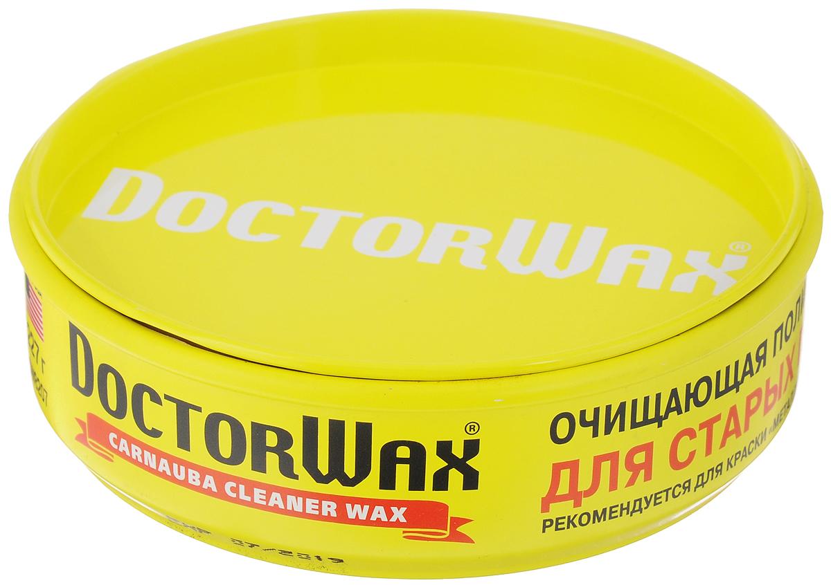 Полироль-защита очищающая Doctor Wax, для старых покрытий, 227 гRC-100BWCПолироль-защита очищающая Doctor Wax предназначена для старых покрытий. Она восстанавливает яркость краски и блеск старых лакокрасочных покрытий, убирает круговые риски, придает краскам Металлик глубину, прозрачность и Мокрый блеск. Создает прочный, оптически прозрачный защитный слой из натурального воска пальмы Карнауба и комплекса полимерных компонентов, усиливающих защитные свойства полироли. Надежно защищает от всех агрессивных воздействий окружающей среды.Безопасна для любых покрытий. Выдерживает многочисленные мойки.Состав: дистилляты нефти, воск Карнауба, полимеры, добавки, составляющие ноу-хау компании.Товар сертифицирован.