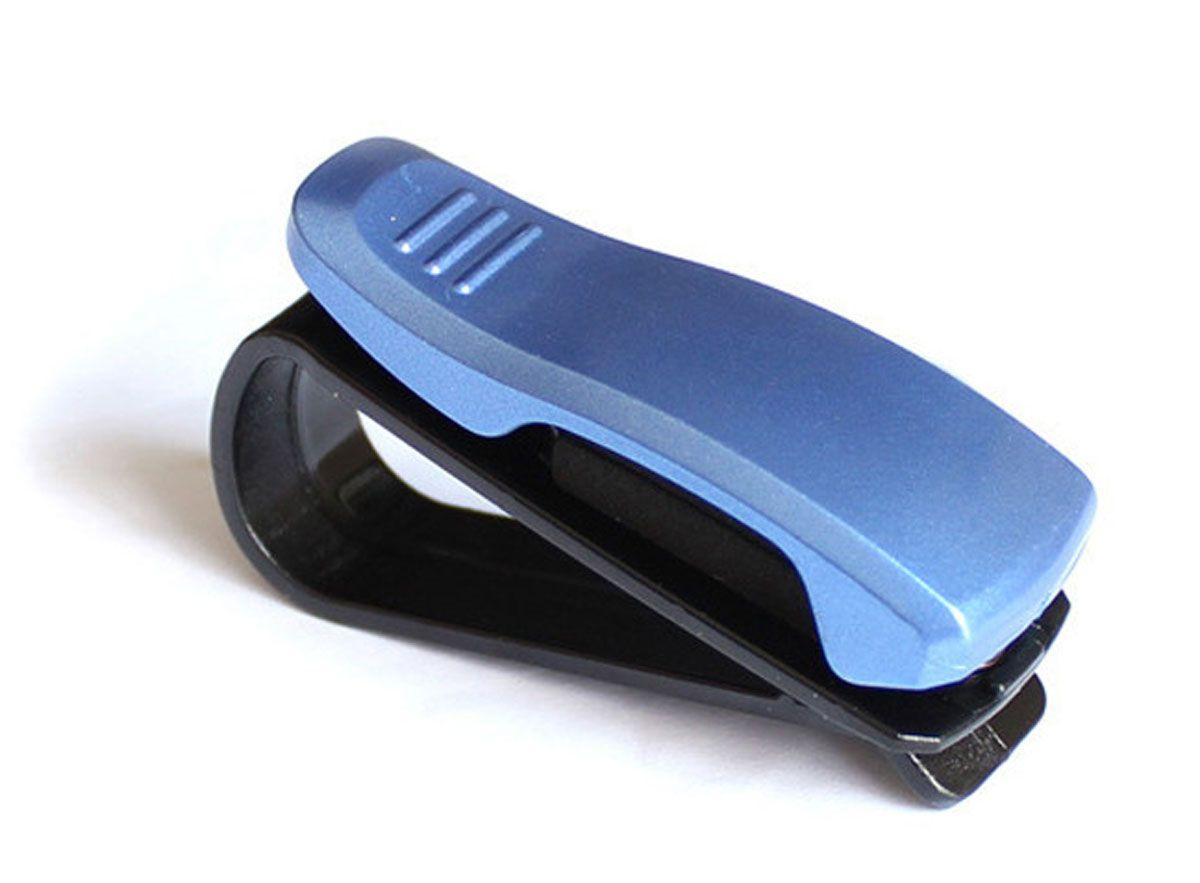 Держатель очков автомобильный Оранжевый Слоник, цвет: синийFS-80423Держатель для очков автомобильный крепится на козырек или зеркало заднего вида.Позволяет удобно хранить очки, ручки, карточки и прочее. Экономит место.