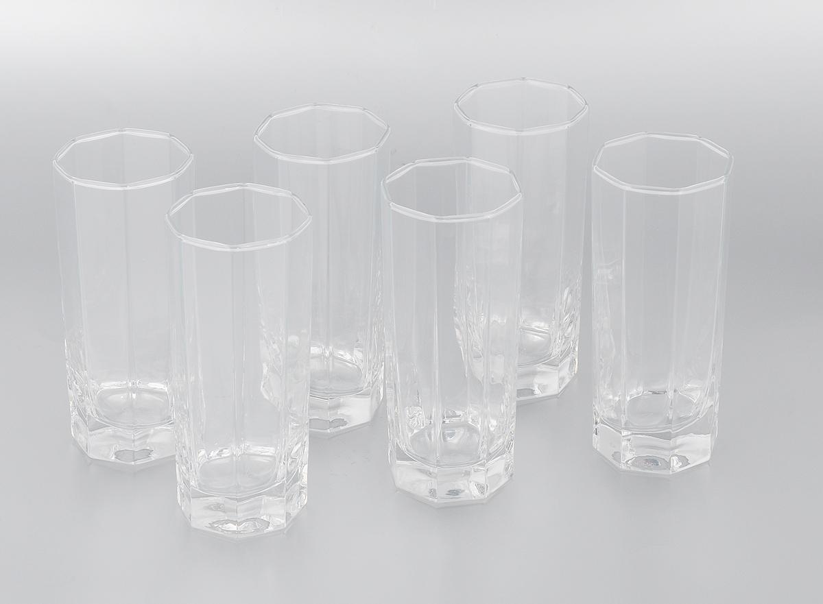 Набор стаканов Pasabahce Kosem, 260 мл, 6 штVT-1520(SR)Набор Luminarc Kosem состоит из шести стаканов, выполненных из высококачественного стекла и оформленных рельефными гранями. Стаканы выдерживает нагрев до 70°С.Изделия предназначены для подачи воды и других безалкогольных напитков. Они отличаютсяособой легкостью ипрочностью, излучают приятный блеск и издают мелодичный хрустальный звон.Стаканы станут идеальным украшением праздничного стола и отличным подарком к любому празднику.Можно использовать в морозильной камере и микроволновой печи. Можно мыть в посудомоечной машине.Диаметр стакана (по верхнему краю): 6 см.Высота: 14 см.