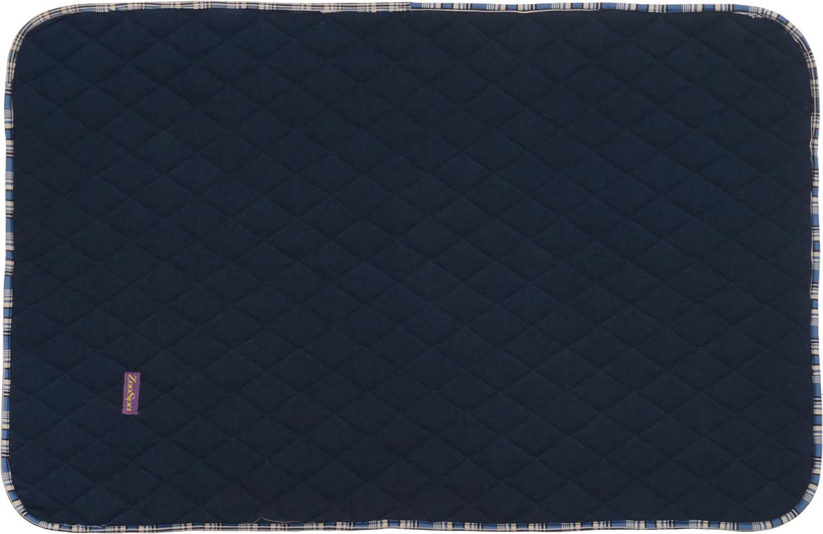 Пеленка впитывающая для животных ZooSpa, многоразовая, 5-ти слойная, цвет: темно-синий, 40 x 60 см0120710Пеленка ZooSpa используется как комфортная впитывающая подстилка в туалетных лотках, в переносках, в автомобиле. Быстро поглощает жидкость в значительных объемах. Изделие выполнено из ткани ABSO (многослойная абсорбирующая ткань с полиуретановой мембраной, 100% полиэстер). Пеленка состоит из пяти слоев, которые обеспечивают абсолютную защиту от протекания, быстро высыхает и не скользит, лапки вашего питомца всегда сухие, отсутствуют неприятные запахи. Многоразовую пеленку можно стирать минимум 300 раз без потери функциональных свойств. Такая пеленка не загрязняют окружающую среду и экономят ваши деньги. Не содержит наполнителей, не выделяет опасных химических веществ, очень прочная ткань, которую сложно прогрызть или разорвать.