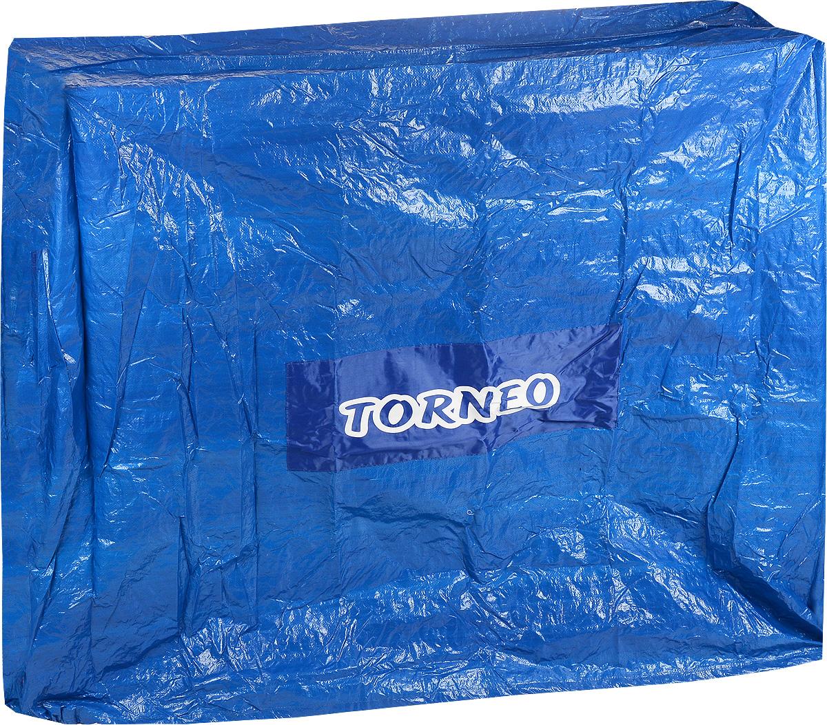 Чехол для теннисного стола  Torneo , цвет: синий, 155 х 45 х 140 см - Экипировка