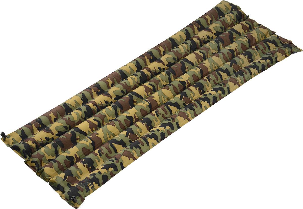 Коврик надувной Tengu MK 3.71M, цвет: камуфляж, 180 х 50 х 7 смSPIRIT ED 1050Легкий надувной туристический коврик. Использование современных материалов позволило создать легкий и компактный надувной коврик для походов.