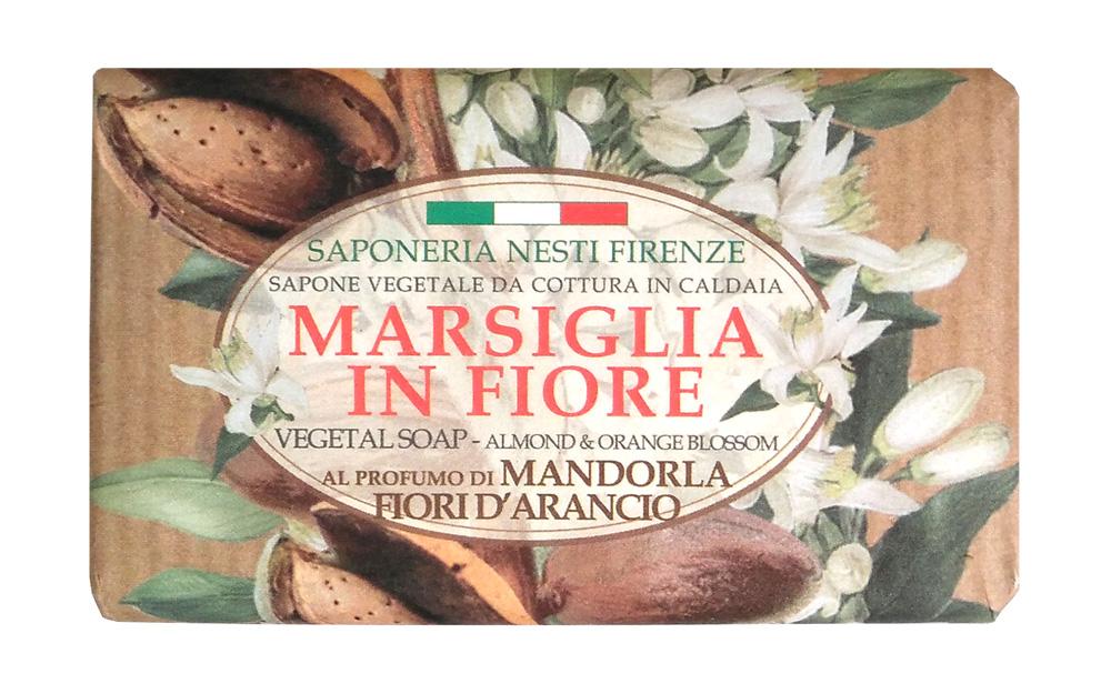 Nesti Dante Мыло Almond & Orange Flowers Миндаль и цветы апельсина 125 г1080126Nesti Dante Marsiglia in Fiore Мыло миндаль и цветы апельсина мягко и бережно очищает сухую и чувствительную кожу рук, прекрасно пенится