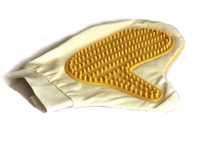 Рукавичка для чистки Каскад, массажная, с антистатическим эффектом