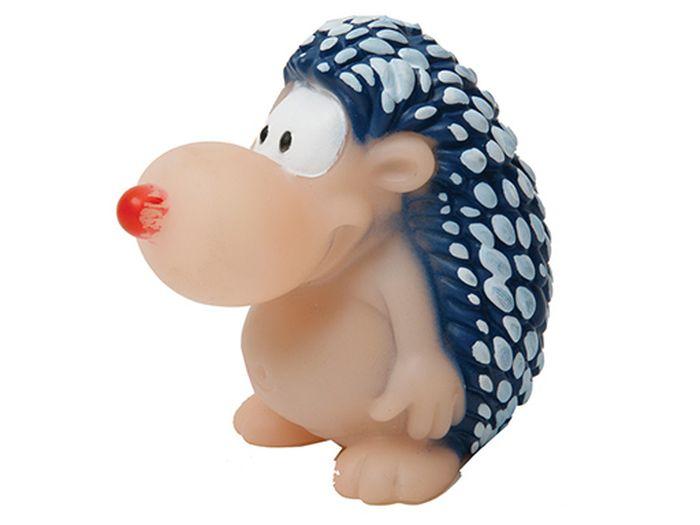 Игрушка для животных Каскад Ежик веселый, высота 11 см игрушка для животных каскад удочка с микки маусом 47 см