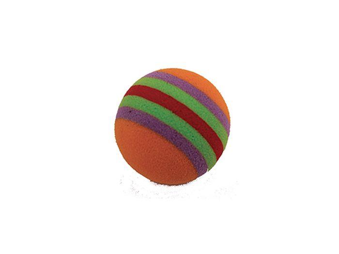 Игрушка для животных Каскад Мячик пробковый, 3,5 см0120710Мячик пробковый 3,5см радуга