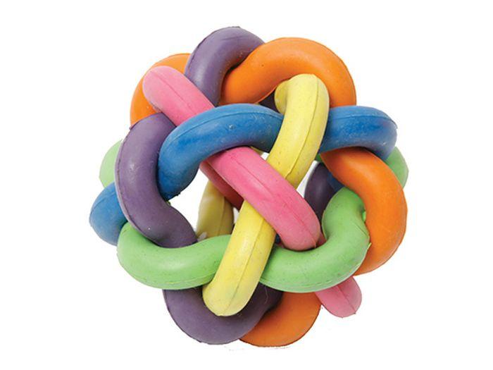 Игрушка для животных Каскад Молекула, с бубенчиком, диаметр 6 см0120710Игрушка для животных Каскад Молекула изготовлена из высококачественной резины. Такая игрушка привлечет внимание вашего питомца, а вам доставит массу приятных эмоций, ведь наблюдать за игрой всегда интересно и приятно.Диаметр игрушки: 6 см.