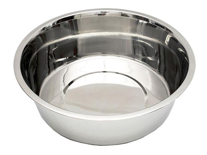 Миска для животных Каскад, из нержавеющей стали, объем 1,5 л0120710Миска из нерж.стали 1,50л.