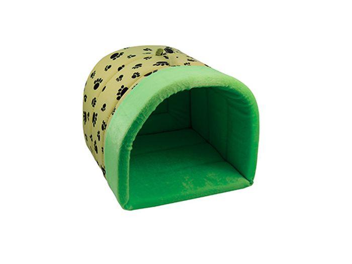 Домик для животных Каскад Лапки, 29 х 29 х 25 см0120710Домик Каскад Лапки непременно станет любимым местом отдыха вашего домашнего животного. Изделие выполнено из высококачественного текстиля. Такой материал не теряет своей формы долгое время. В таком стильном домике вашему любимцу будет мягко и тепло. Он даст вашему питомцу ощущение уюта и уединенности, а также возможность подремать, отдохнуть и просто спрятаться.Размер домика: 29 х 29 х 25 см.