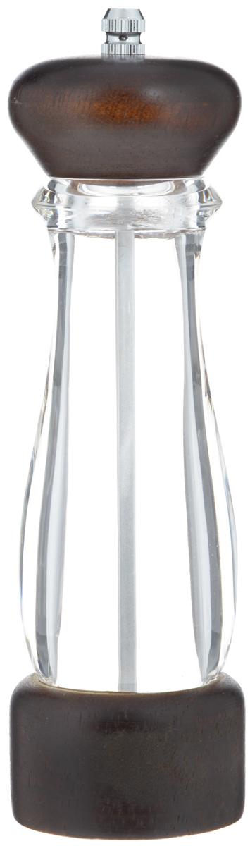 Перцемолка Mayer & Boch. 23887FA-5125 WhiteПерцемолка Mayer & Boch прекрасно подходит для сервировки стола и использования на кухне. Надолго сохраняет специи свежими и ароматными. Идеально подходит для перца горошком, крупных кристаллов соли и других немолотых специй. Изделие выполнено из акрила и темного дерева, снабжено керамическим механизмом помола. Необычный оригинальный дизайн стильно дополнит интерьер кухни.