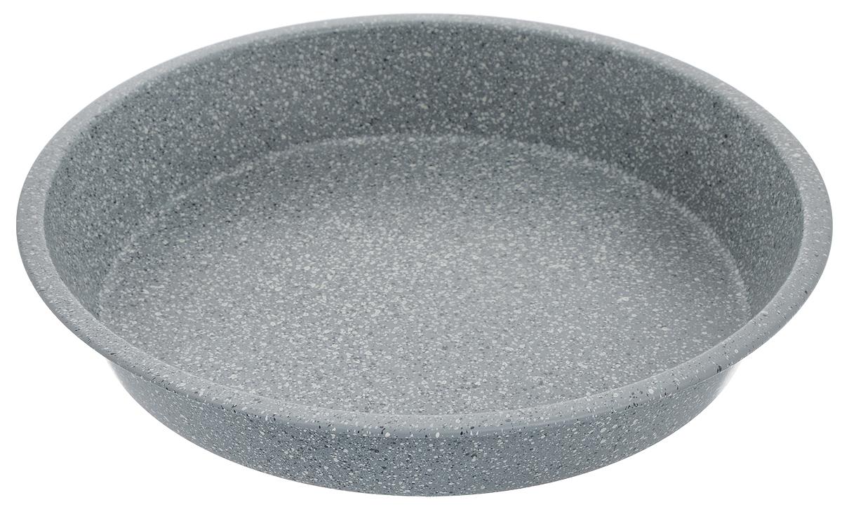 Форма для выпечки Mayer & Boch, круглая, с антипригарным покрытием, диаметр 28 смFS-80418Форма для выпечки Mayer & Boch изготовлена из высококачественной углеродистой стали с антипригарным мраморным покрытием. Покрытие не оставляет послевкусия, делает возможным приготовление блюд без масла, сохраняет витамины и питательные вещества. Оно обладает повышенной стойкостью к царапинам и внешним воздействиям. Антипригарная форма - лучший современный вариант для использования в духовом шкафу. Незаменимый атрибут для приготовления запеканок, всевозможных блюд из мяса и овощей, а также выпечки из теста и изысканных кондитерских блюд. Внутренний диаметр формы: 26 см. Внешний диаметр формы: 28 см. Высота стенки: 4,8 см.