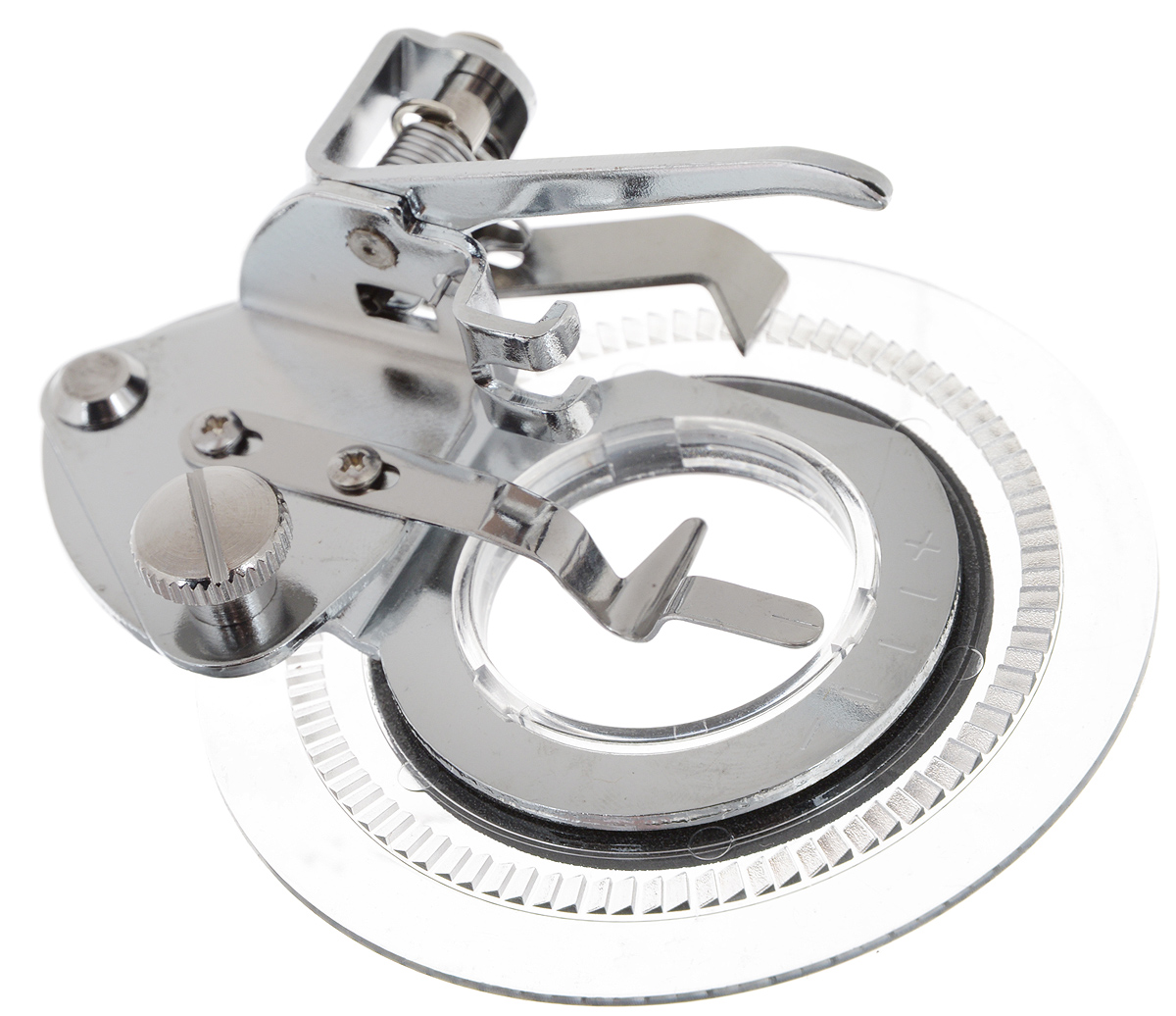 Лапка для швейной машины Aurora, для шитья узоровSM 10-09Лапка для швейной машины Aurora используется для шитья декоративных узоров по кругу. Подходит для большинства современных бытовых швейных машин. Инструкция по использованию прилагается.