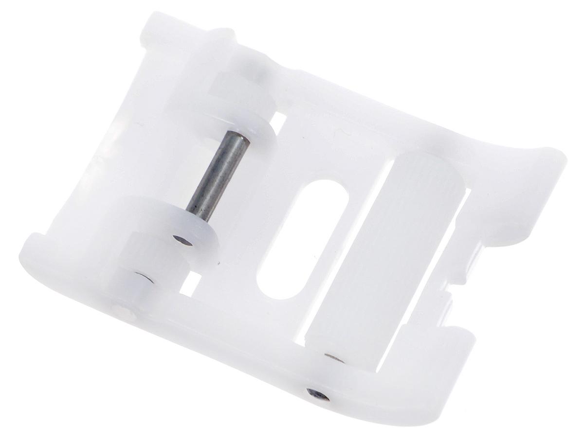 Лапка для швейной машины Aurora, роликовая, тефлоновая, 7 ммSM 10-09Роликовая лапка для швейной машины Aurora используется в машинах, у которых ширина зиг-зага 7 мм. Применяется для шитья материалов, прилипающих к металлической лапке (кожа, замша, винил, синтетические кожзаменители, плащевые ткани) или плохо продвигающихся под обычной металлической лапкой. Подходит для большинства современных бытовых швейных машин. Инструкция по использованию прилагается.