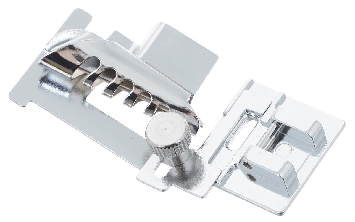Лапка для швейной машины Aurora, без адаптера, для окантовки срезов косой бейкой1103Лапка для швейной машины Aurora используется для обработки краев ткани косой бейкой или отделочной тесьмой. Подходит для большинства современных бытовых швейных машин. Инструкция по использованию прилагается.