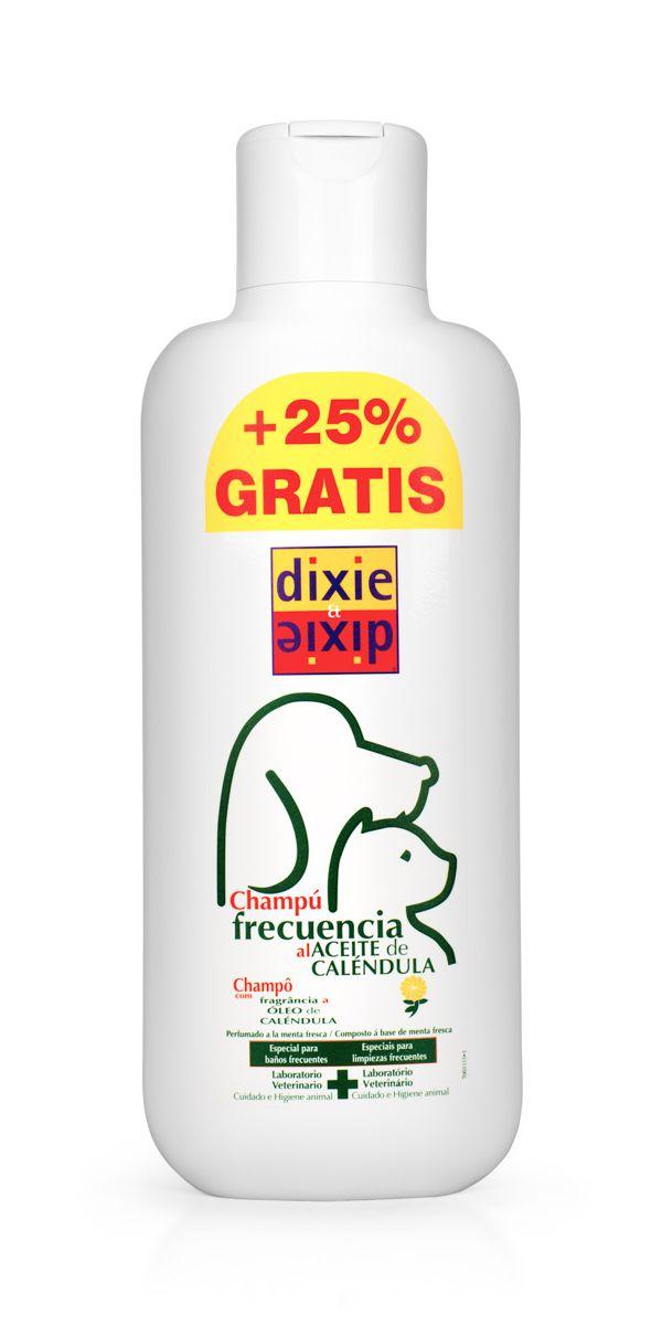 Шампунь для кошек и собак VEDA Dixie, для частого применения, 750 мл0120710Шампунь VEDA Dixie предназначен для кошек и собак, нуждающихся в частой гигиене. Содержит масло календулы и экстракт мяты, что благотворно влияет на состояние кожи и шерсти, и создает очень приятный запах свежести. Шампунь обладает свойствами кондиционера, благодаря содержанию бетаина, распутывает шерсть и облегчает расчесывание. Способствует поддержанию естественного баланса рН.Состав: вода, мягкие ПАВ, бетаин - 2,5%, масло календулы - 0,5%, экстракт мяты - 0,25%, вспомогательные вещества.Товар сертифицирован.