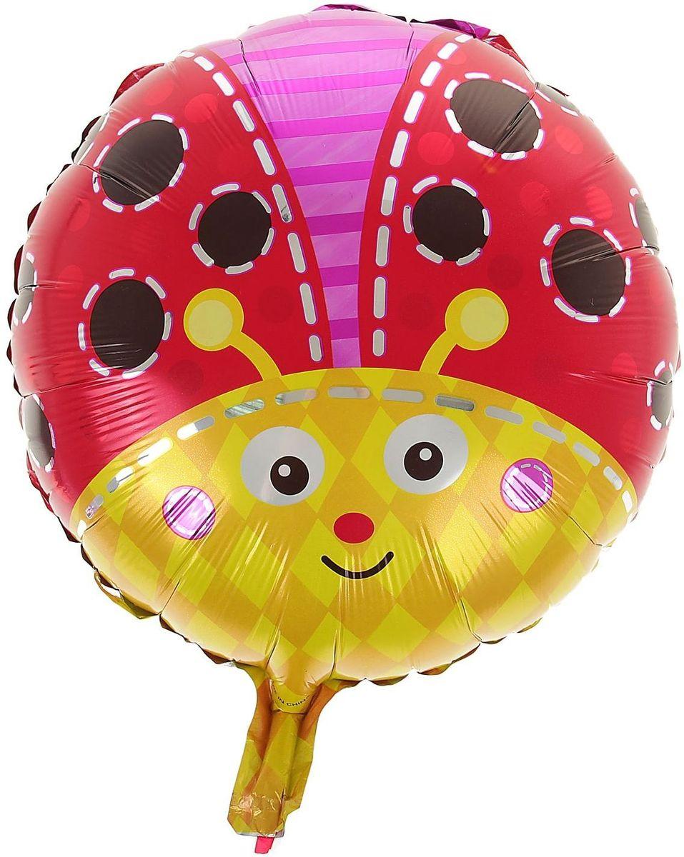 Sima-land Воздушный шарик Божья коровка Круг 18