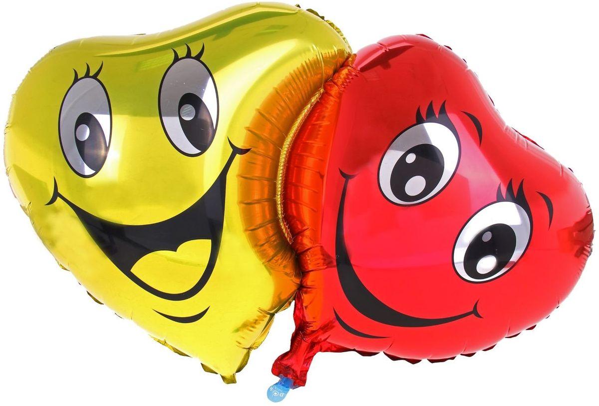 Sima-land Воздушный шарик Большие глаза Сердце 18