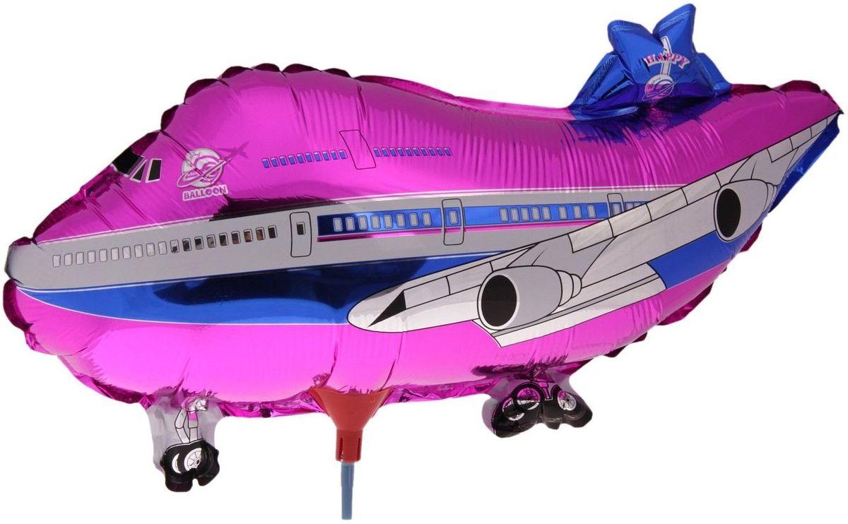 Sima-land Воздушный шарик Самолет 10 с палочкой