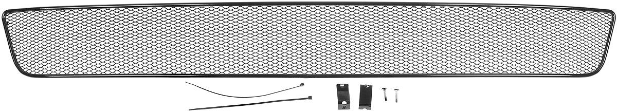 Сетка для защиты радиатора Novline-Autofamily, внешняя, для Infiniti QX80 (2014-)4620019034603Сетка для защиты радиатора Novline-Autofamily изготовлена из антикоррозионного материала, что гарантирует отсутствие ржавчины в процессе эксплуатации. Изделие устанавливается на штатную решетку переднего бампера автомобиля, защищая таким образом радиатор от попадания камней, крупных насекомых, мелких птиц. Простая установка делает это изделие необыкновенно удобным. В отличие от универсальных сеток, для установки которых требуется снятие бампера, то есть наличие специализированных навыков и дополнительного оборудования (подъемник и так далее), для установки этой сетки понадобится 20 минут времени и отвертка. Данный продукт разработан индивидуально под каждый бампер автомобиля. Внешняя защитная сетка радиатора полностью повторяет геометрию решетки бампера и гармонично вписывается в общий стиль автомобиля.