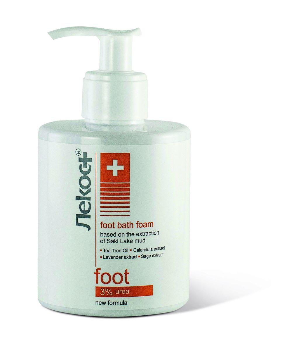 Лекос+ Пена для принятия ножных ванн, 290 млFS-00897УспокаиQ50:AW50 принятия ножных ванн с вытяжкой из грязи Сакского озера, обогащенной экстрактами календулы, шалфея и лаванды, снимает усталость и тяжесть в ногах. Масло чайного дерева оказывает противовоспалительное и антисептическое действие. Мочевина интенсивно увлажняет и размягчает загрубевшие участки кожи, способствует заживлению мелких ран и трещин.