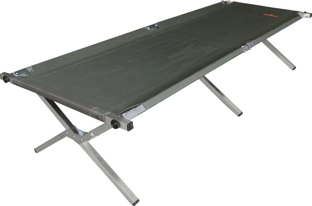 Кровать кемпинговая Woodland, складная, 190 x 65 x 41 см09840-20.000.00Кровать кемпинговая Woodland пригодится для отдыха на природе, даче и будет незаменима в случае неожиданного приезда гостей. Кровать большая, комфортная и прочная. Изделие имеет прочный алюминиевый каркас, ткань Oxford 600 обладает повышенной износостойкостью. Кровать компактно складывается и занимает мало места. Имеется удобный чехол для транспортировки и хранения. Такая универсальная кровать сделает комфортной рыбалку или выезд на кемпинг. Максимально допустимая нагрузка: 120 кг.