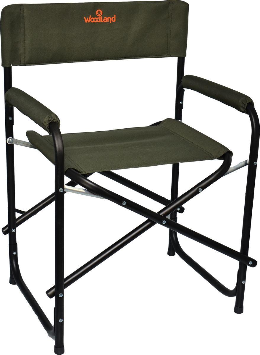 Кресло складное кемпинговое Woodland OutdoorNEW, цвет: зеленый, 56 x 46 x 80 см0055354Складное кресло Woodland OutdoorNEW предназначено для создания комфортных условий в туристических походах, охоте, рыбалке и кемпинге.Материал: Сталь, Oxford 600DРазмер: 56 х 57 х 50 (80) см.Вес: 4,9 кг.Усиленная конструкция каркаса. Усилены соединительные элементы.Компактная складная конструкция.Прочный стальной каркас, диаметром 22 мм, с покрытием.Водоотталкивающее ПВХ покрытие ткани Oxford 600D.Максимально допустимая нагрузка 120 кг.