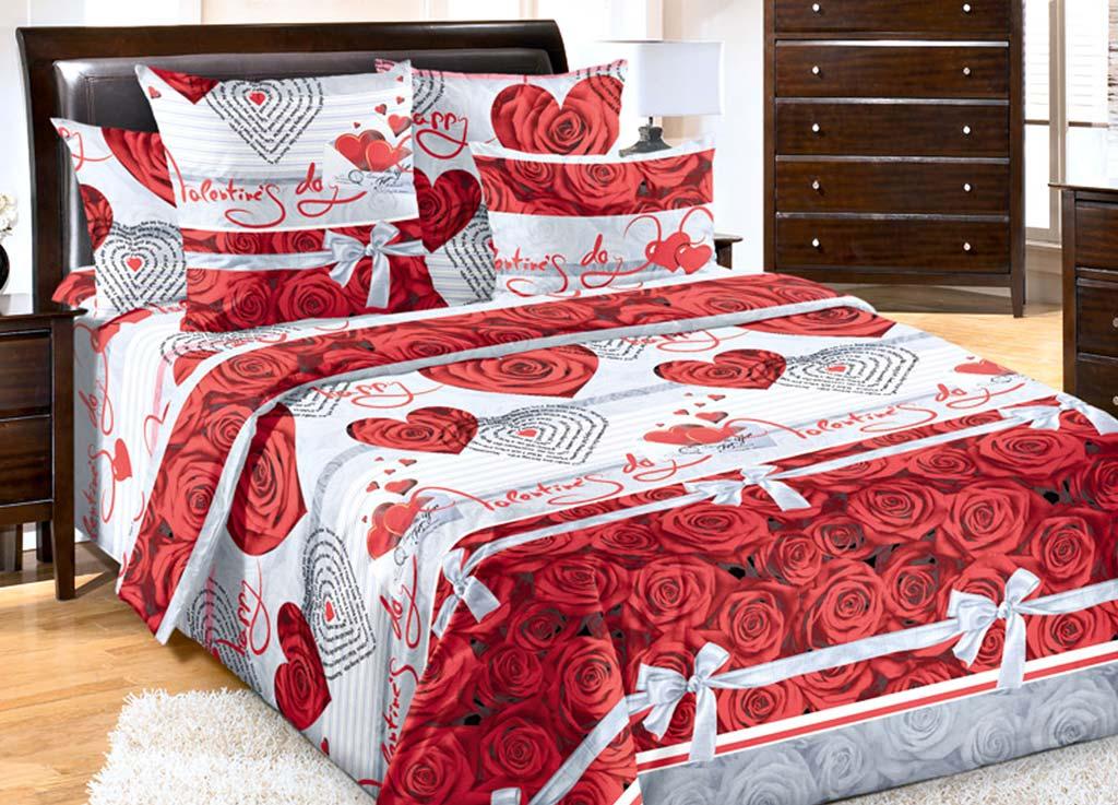 Комплект белья Primavera Комплимент, 1,5-спальный, наволочки 70x70, цвет: белый-красный391602Наволочки с декоративным кантом особенно подойдут, если вы предпочитаете класть подушки поверх покрывала. Кайма шириной 5-10см с трех или четырех сторон делает подушки визуально более объемными, смотрятся они очень аккуратно, даже парадно. Еще такие наволочки называют оксфордскими или наволочками «с ушками».Сатин – прочная и плотная ткань с диагональным переплетением нитей. Хлопковый сатин по мягкости и гладкости уступает атласу, зато не будет соскальзывать с кровати. Сатиновое постельное белье легко переносит стирку в горячей воде, не выцветает. Прослужит комплект из обычного сатина меньше, чем из сатина повышенной плотности, но дольше белья из любой другой хлопковой ткани. Сатин приятен на ощупь, под ним комфортно спать летом и зимой.Производство «Примавера» находится в Китае, что позволяет сократить расходы на доставку хлопка. Поэтому цены на это постельное белье более чем скромные и это не сказывается на качестве. Сатин очень гладкий, мягкий, но при этом, невероятно прочный. Он прослужит вам действительно долго и не полиняет. Для нанесения рисунков используют только безопасные для окружающей среды и здоровья человека красители.