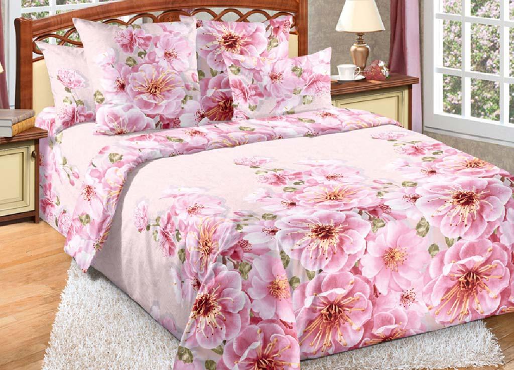 Комплект белья Primavera Миндаль, 1,5-спальный, наволочки 70x70, цвет: розовый391602Наволочки с декоративным кантом особенно подойдут, если вы предпочитаете класть подушки поверх покрывала. Кайма шириной 5-10см с трех или четырех сторон делает подушки визуально более объемными, смотрятся они очень аккуратно, даже парадно. Еще такие наволочки называют оксфордскими или наволочками «с ушками».Сатин – прочная и плотная ткань с диагональным переплетением нитей. Хлопковый сатин по мягкости и гладкости уступает атласу, зато не будет соскальзывать с кровати. Сатиновое постельное белье легко переносит стирку в горячей воде, не выцветает. Прослужит комплект из обычного сатина меньше, чем из сатина повышенной плотности, но дольше белья из любой другой хлопковой ткани. Сатин приятен на ощупь, под ним комфортно спать летом и зимой.Производство «Примавера» находится в Китае, что позволяет сократить расходы на доставку хлопка. Поэтому цены на это постельное белье более чем скромные и это не сказывается на качестве. Сатин очень гладкий, мягкий, но при этом, невероятно прочный. Он прослужит вам действительно долго и не полиняет. Для нанесения рисунков используют только безопасные для окружающей среды и здоровья человека красители.