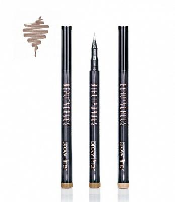 Beautydrugs Brow Liner фломастер для бровей B2, 1 млFA-8116-1 White/pinkCтойкий маркер для бровей от Beautydrugs позволит Вашим бровям выглядеть идеально когда угодно, и где угодно! Цвет наносится максимально чётко, и остается с вами в течение всего дня, а удобным наконечником можно прорисовать даже самые тонкие волоски.