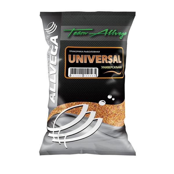 Прикормка Allvega Универсальная, 1 кг52639Прикормка Allvega Универсальная средней клейкости, среднего помола и умеренной ароматики подходит для ловли всех видов нехищных рыб на водоемах различного типа. Обладает приятным сладковатым запахом. Может использоваться как самостоятельная прикормка, так и в качестве основы для приготовления специальных смесей с другими прикормками и компонентами.Товар сертифицирован.
