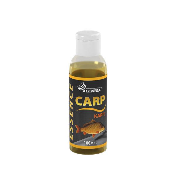 Ароматизатор-концентрат жидкий Allvega Карп, 100 мл52628Высококонцентрированный жидкий ароматизатор (эссенция) Allvega Карп применяется для ароматизации рыболовных прикормок и насадок. При добавлении в смесь значительно повышает ее привлекательность для рыбы. Этот ароматизатор придаст замечательный фруктовый вкус и аромат любой прикормке. Идеально подходит для ловли карпа.Товар сертифицирован.Объем: 100 мл.