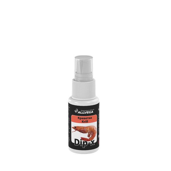 Ароматизатор-спрей Allvega Dip-X Krill, 50 мл52640Высококонцентрированный ароматизатор-спрей Allvega Dip-X Krill предназначен для быстрой ароматизации различных наживок и приманок, втом числе искусственных. Обладает запахом креветки.Товар сертифицирован.