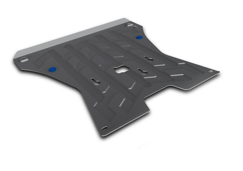 Защита картера и КПП Rival, для AUDI Q5. 333.0321.1DW90Защита картера и КПП для Audi Q5 , V - все 2008-2012 2012-, крепеж в комплекте, алюминий 4 мм, Rival. Надежно защищают днище вашего автомобиля от повреждений, например при наезде на бордюры, а также выполняют эстетическую функцию при установке на высокие автомобили.- Толщина алюминиевых защит в 2 раза толще стальных, а вес при этом меньше до 30%.- Отлично отводит тепло от двигателя своей поверхностью, что спасает двигатель от перегрева в летний период или при высоких нагрузках.- В отличие от стальных, алюминиевые защиты не поддаются коррозии, что гарантирует срок службы защит более 5 лет.- Покрываются порошковой краской, что надолго сохраняет первоначальный вид новой защиты и защищает от гальванической коррозии.- Глубокий штамп дополнительно усиливает конструкцию защиты.- Подштамповка в местах крепления защищает крепеж от срезания.- Технологические отверстия там, где они необходимы для смены масла и слива воды, оборудованные заглушками, надежно закрепленными на защите.Уважаемые клиенты!Обращаем ваше внимание, на тот факт, что защита имеет форму, соответствующую модели данного автомобиля. Фото служит для визуального восприятия товара.